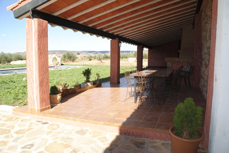 Casas rurales finca spa vereda real sierra de alcaraz for Techos para galerias de casas
